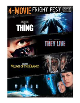 Fright Fest 4-Movie Collection [The Thing, They Live, Village of the Damned, Virus]
