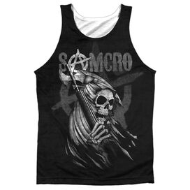 Sons Of Anarchy Somcro Reaper Adult 100% Poly Tank Top