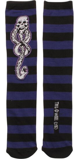 Harry Potter Death Eater Mark Crew Socks
