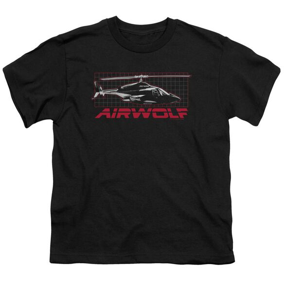 Airwolf Grid Short Sleeve Youth T-Shirt