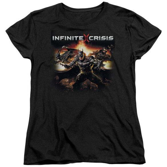 Infinite Crisis Batmen Short Sleeve Womens Tee T-Shirt