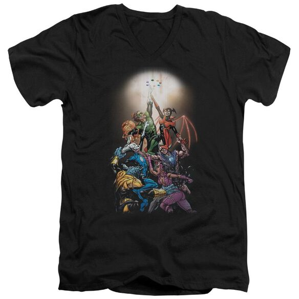 Green Lantern Gl New Guardians #1 Short Sleeve Adult V Neck T-Shirt