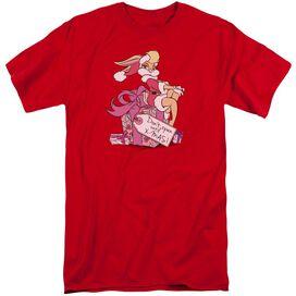 Looney Tunes Lola Present Short Sleeve Adult Tall T-Shirt