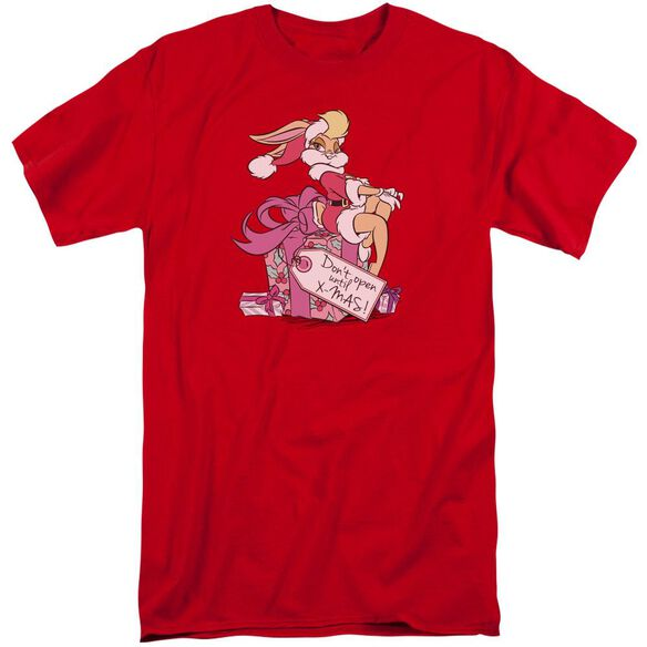 Looney Tunes Lola Present Short Sleeve Adult Tall T-Shirt