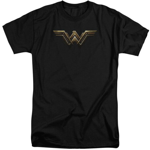 Justice League Movie Wonder Woman Logo Short Sleeve Adult Tall T-Shirt