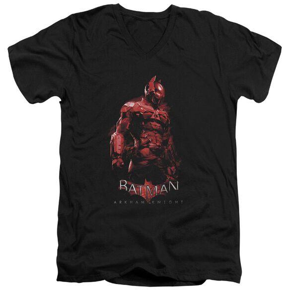 Batman Arkham Knight Knight Short Sleeve Adult V Neck T-Shirt