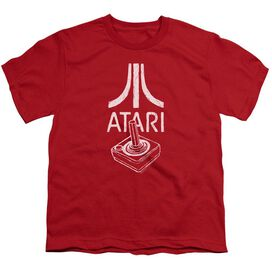 Atari Joystick Logo Short Sleeve Youth T-Shirt