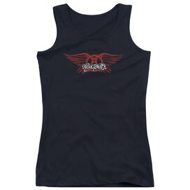 Aerosmith Winged Logo Juniors Tank Top