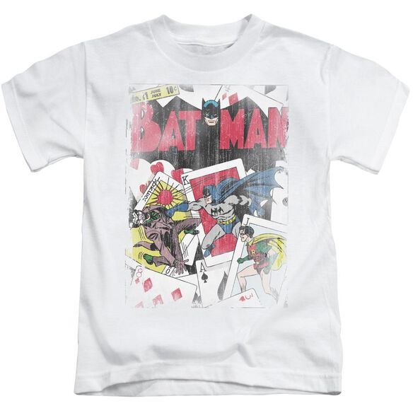 Dc Number 11 Distressed Short Sleeve Juvenile White Md T-Shirt