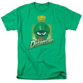 Looney Tunes Disintegrate Short Sleeve Adult Kelly T-Shirt