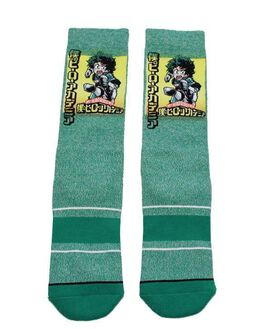 My Hero Academia Izuku Crew Socks