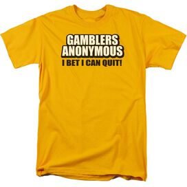 Gamblers Anonymous Short Sleeve Adult T-Shirt