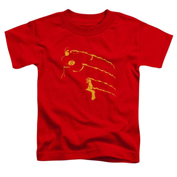 Dc Flash Min Short Sleeve Toddler Tee Red T-Shirt