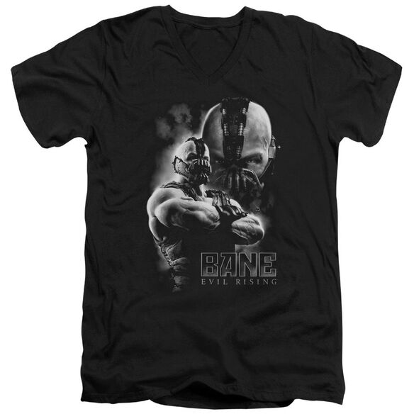 Dark Knight Rises Evil Rising Short Sleeve Adult V Neck T-Shirt