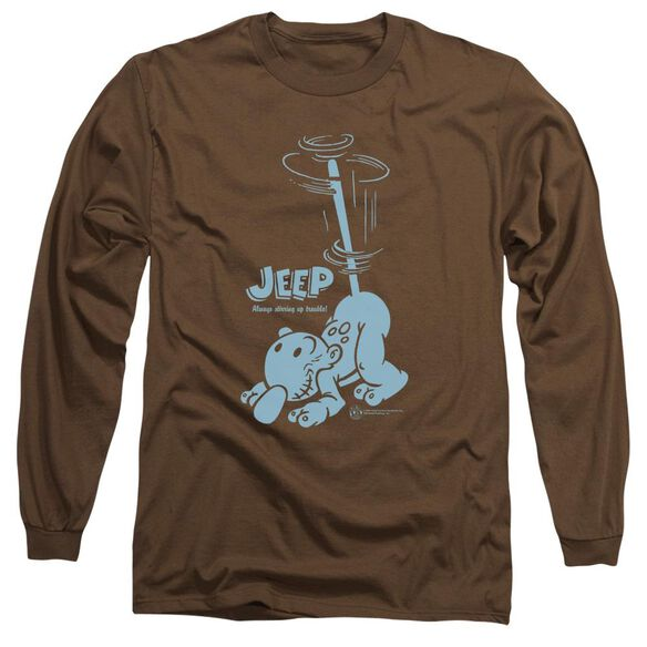 Popeye Trouble Long Sleeve Adult T-Shirt