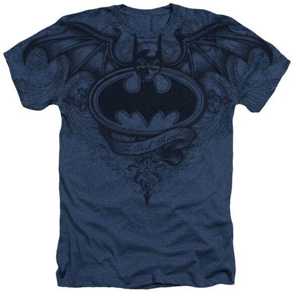 Batman Sublimated Winged Logo Adult Heather