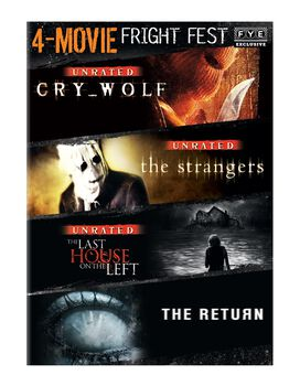 Fright Fest 4-Movie Collection [Cry_Wolf, The Strangers, Last House on the Left, The Return]
