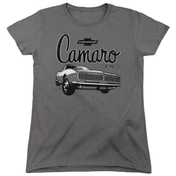 Chevrolet Script Car Short Sleeve Womens Tee T-Shirt
