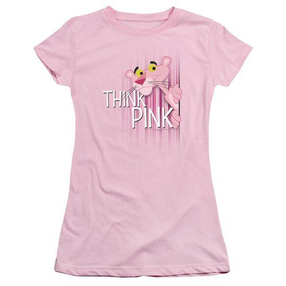 Panther Think Short Sleeve Junior Sheer T-Shirt