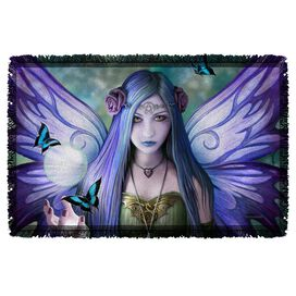Anne Stokes Mystic Aura Woven Throw