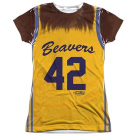 Teen Wolf Jersey Short Sleeve Junior Poly Crew T-Shirt