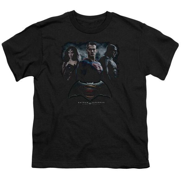 Batman V Superman The Crew Short Sleeve Youth T-Shirt