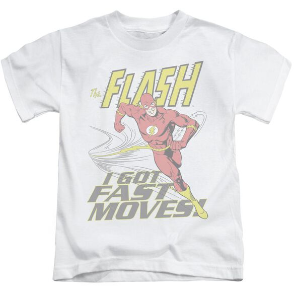Dco Fast Moves Short Sleeve Juvenile White T-Shirt