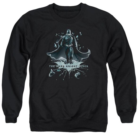 Dark Knight Rises Break Through Adult Crewneck Sweatshirt