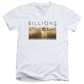 Billions Golden City Short Sleeve Adult V Neck T-Shirt