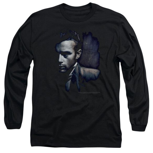 Dean In Shadow Long Sleeve Adult T-Shirt