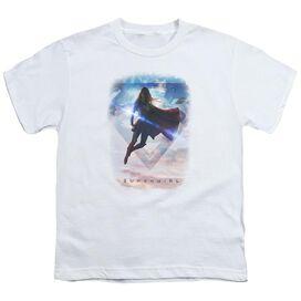 Supergirl Endless Sky Short Sleeve Youth T-Shirt