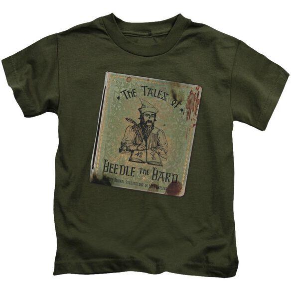 Harry Potter Beedle The Bard Short Sleeve Juvenile Military T-Shirt