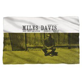 Miles Davis Miles And Milt Fleece Blanket