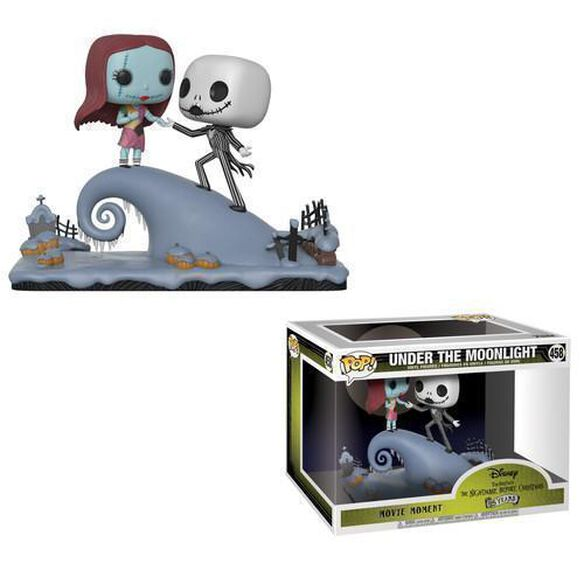 nightmare before christmas jack and sally under the moonlight 2 - A Nightmare Before Christmas 2