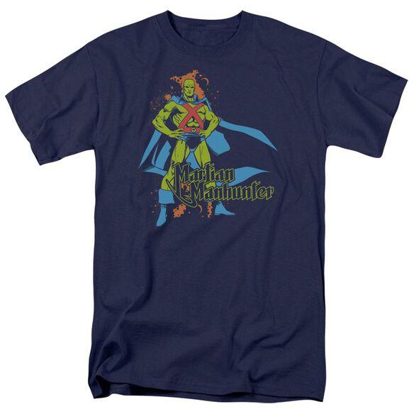 Dc Martian Manhunter Short Sleeve Adult T-Shirt