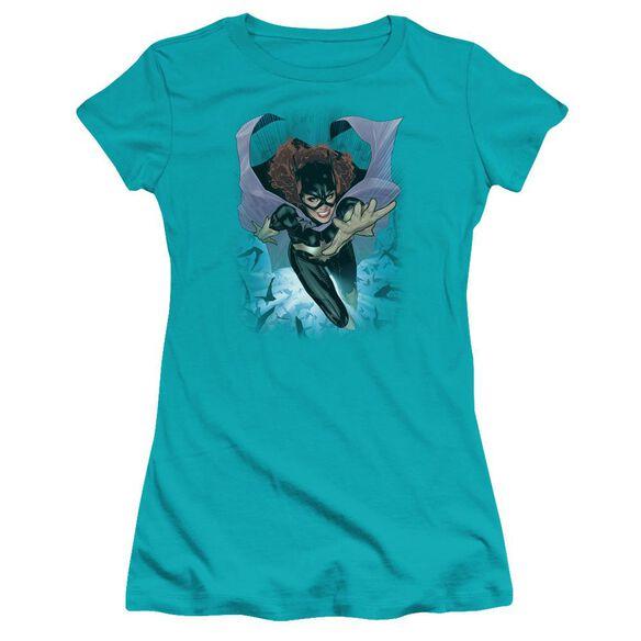 Jla Batgirl #1 Premium Bella Junior Sheer Jersey