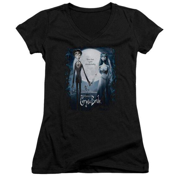 Corpse Bride Poster Junior V Neck T-Shirt