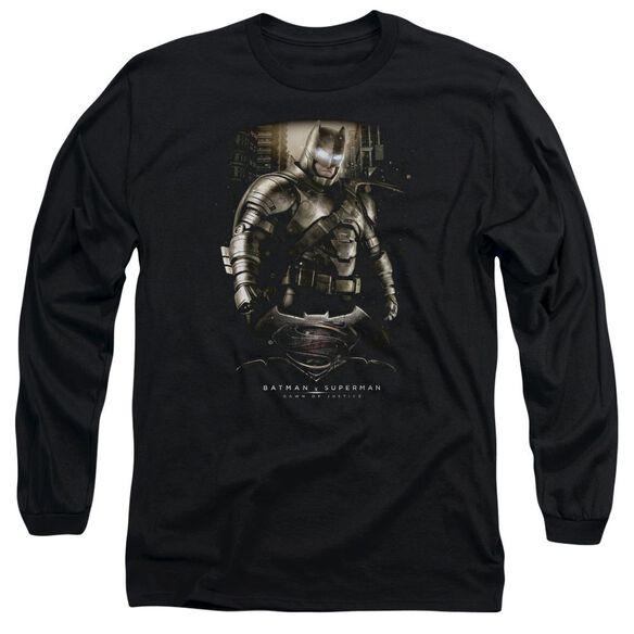 Batman V Superman Bats Ground Zero Long Sleeve Adult T-Shirt