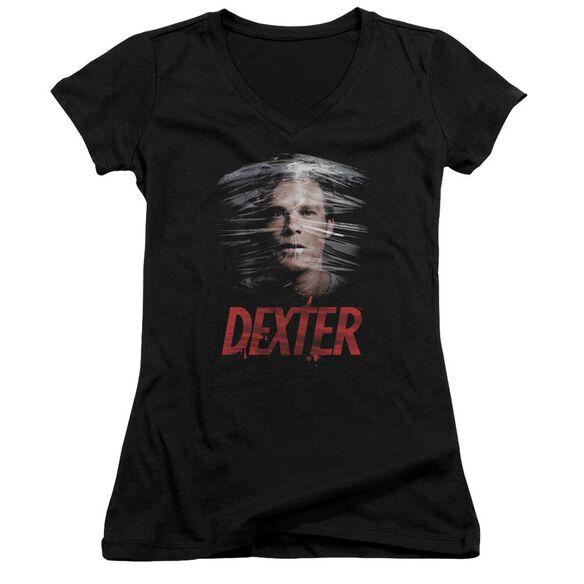 Dexter Plastic Wrap Junior V Neck T-Shirt