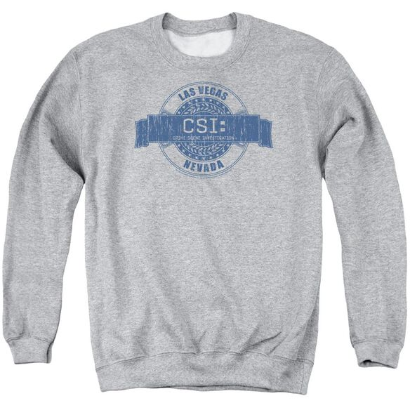 Csi Vegas Badge Adult Crewneck Sweatshirt Athletic
