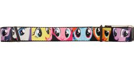 My Little Pony Up Close Faces Squares Mesh Belt