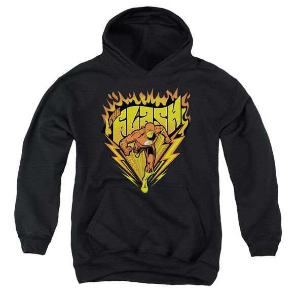Dc Flash Blazing Speed Youth Pull Over Hoodie