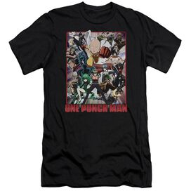One Punch Man Cast Of Characters Hbo Short Sleeve Adult T-Shirt