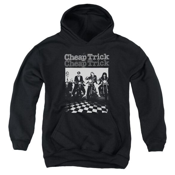 Cheap Trick Cheap Trick Bikes Youth Pull Over Hoodie