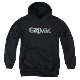 Grimm Bloody Logo - Youth Pull-over Hoodie - Black - Md - Black