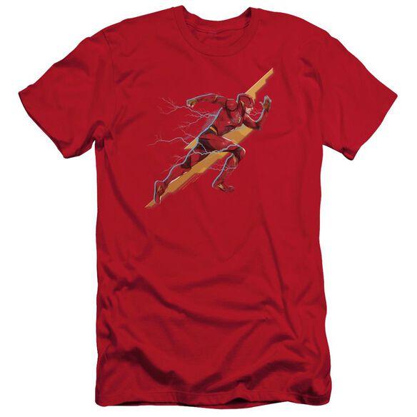 Justice League Movie Flash Forward Short Sleeve Adult T-Shirt