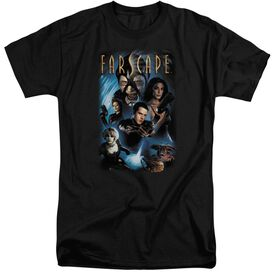 Farscape Comic Cover Short Sleeve Adult Tall T-Shirt