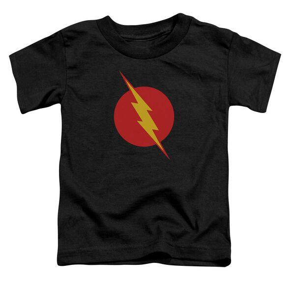 Jla Reverse Flash Short Sleeve Toddler Tee Black T-Shirt