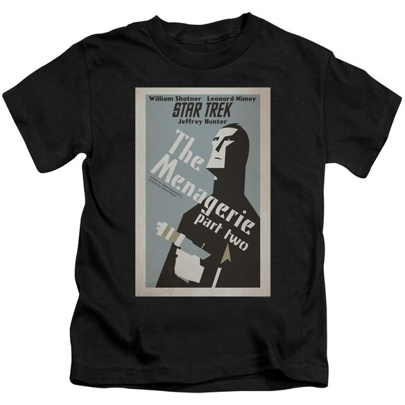 Star Trek Tos Episode 12 Short Sleeve Juvenile Black T-Shirt