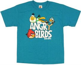 Angry Birds Slingshot Youth T-Shirt